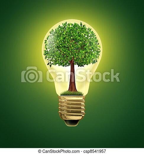 Environmental Ideas - csp8541957