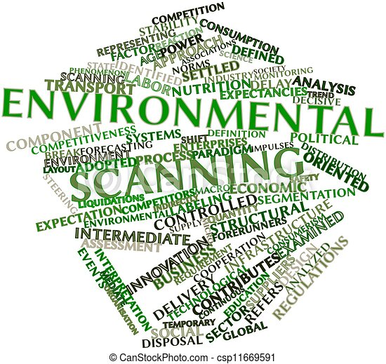 environmental scanning Environmental scanning kendra mcqueen mgt/498 march 14, 2016 amy novoa environmental scanning environmental scanning is an overarching term encompassing the monitoring, evaluation, and dissemination of information relevant to the organizational development of a strategy (wheelen, hunger, & hoffman, bamford, 2015,.