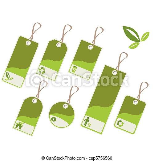 environmental tags - csp5756560
