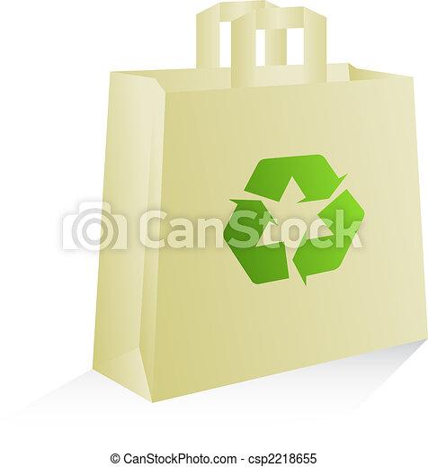 Environmentally friendly bag - csp2218655