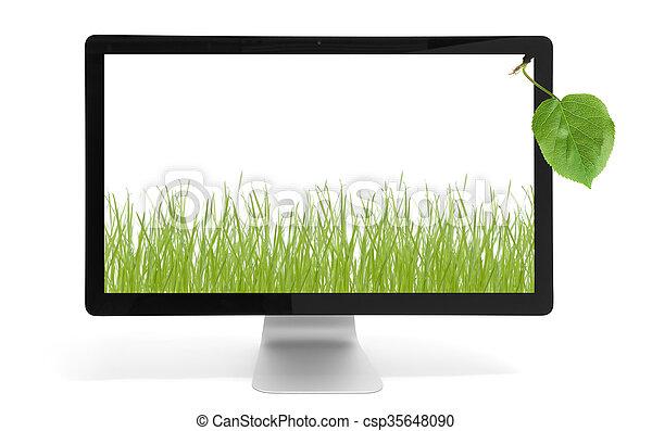 environnement, concept, protection - csp35648090