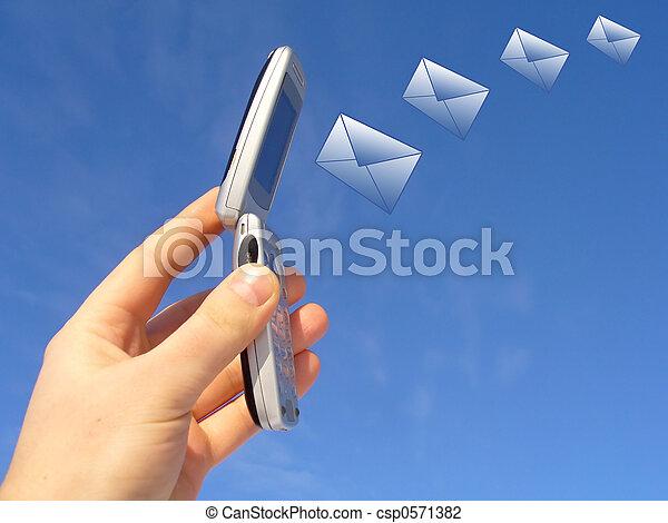 envoi, message - csp0571382