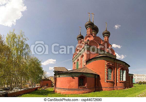 Epiphany church in Yaroslavl. Golden ring of Russia - csp44072690