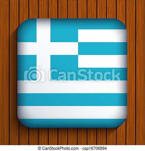 eps10, houten, achtergrond., vlag, vector, pictogram - csp16706894