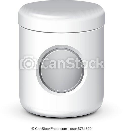 eps10, isolated., πάνω , κενό , έτοιμος , αλάτι , δικό σου , design., βάζο , τσάι , άσπρο , κοροϊδεύω , αλάτι , προϊόν , φόρμα , πακετάρισμα , ζάχαρη άχνη, φόντο , άσπρο , γέλη , κρέμα , καφέs , σκούφοs , πούδρα , μικροβιοφορέας , μπορώ , bottle., ή  - csp46754329