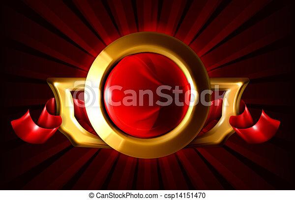 eps10, lusso, cornice - csp14151470