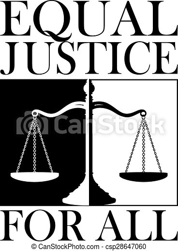 Equal Justice For All - csp28647060