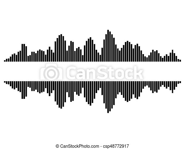 equalizer music sound wave vector symbol icon design beautiful rh canstockphoto com sound wave vector images sound wave vector illustrator