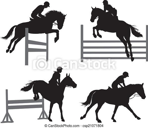 Equestrian sports set - csp21071804