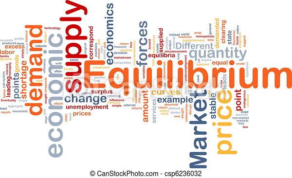 Equilibrium is bone background concept - csp6236032