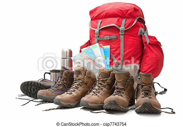 equipamento, hiking - csp7743754