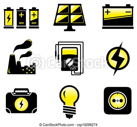 equipamento, jogo, elétrico - csp19296274