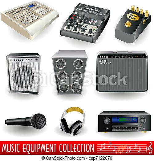 equipamento, música - csp7122070