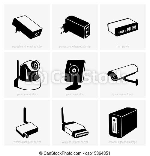 equipamento, rede - csp15364351