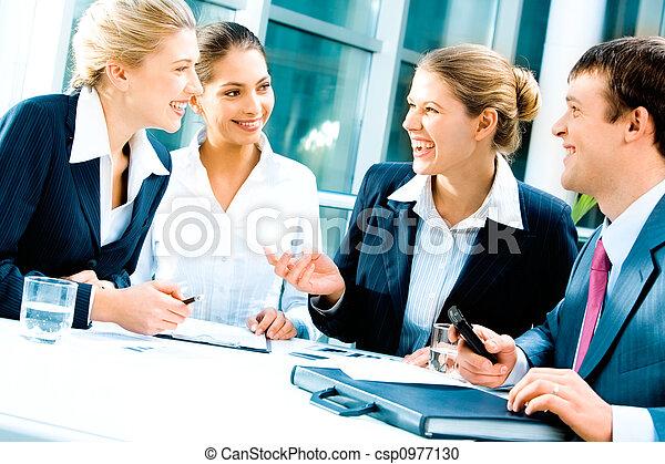 equipe affaires - csp0977130