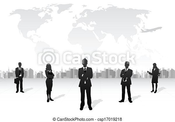 equipe affaires - csp17019218