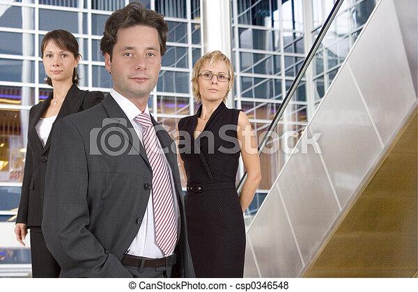 equipe affaires - csp0346548