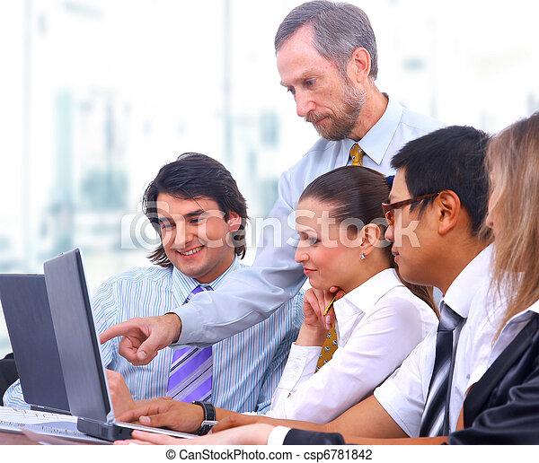 equipe affaires - csp6781842