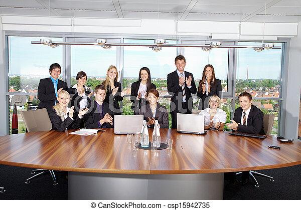 equipe affaires - csp15942735