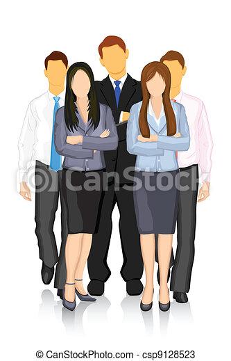 equipe affaires - csp9128523