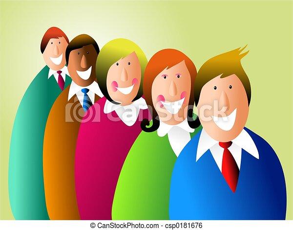 equipe negócio - csp0181676