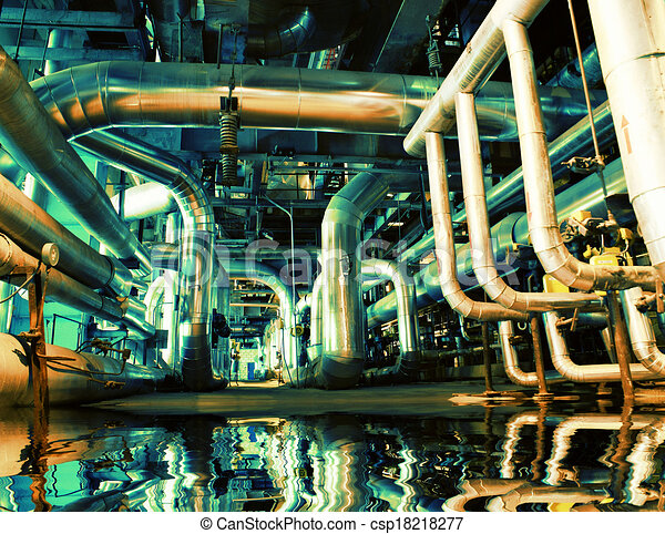 Equipment, cables and piping - csp18218277