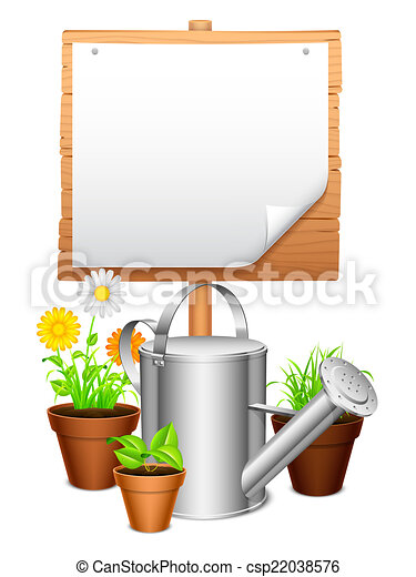 Equipo de jardín. - csp22038576