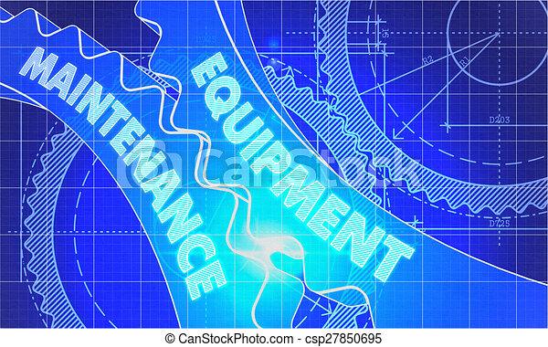 Equipment maintenance concept blueprint of gears equipment equipment maintenance concept blueprint of gears csp27850695 malvernweather Image collections