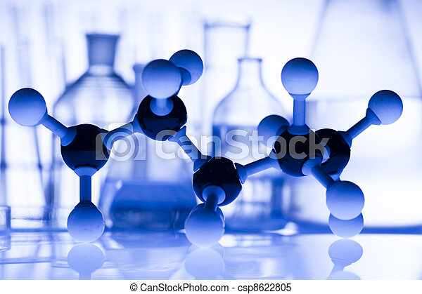Equipment of a research laboratory  - csp8622805