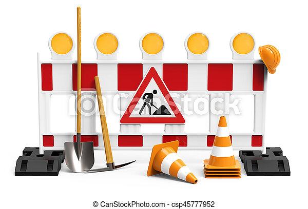 Bajo Construcción, equipo para constructor - csp45777952
