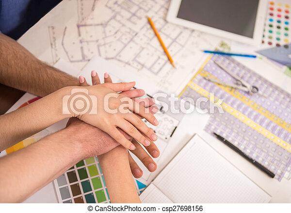 Trabajo en equipo - csp27698156