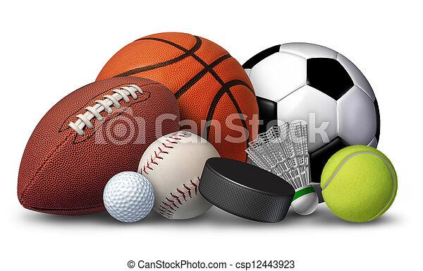 Equipo deportivo - csp12443923