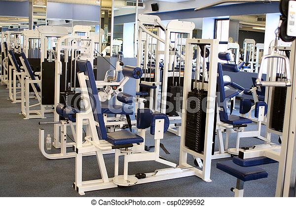 equipo, gimnasio - csp0299592