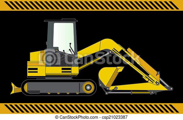 Equipo de maquinaria de construcción Excavador - csp21023387