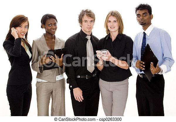 Equipo de negocios - csp0263300