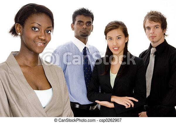 Equipo de negocios - csp0262907