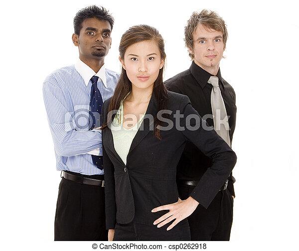 Equipo de negocios - csp0262918