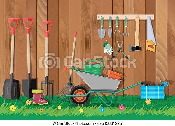 Equipo set jardiner a herramientas de jard n pala for Equipo de jardineria