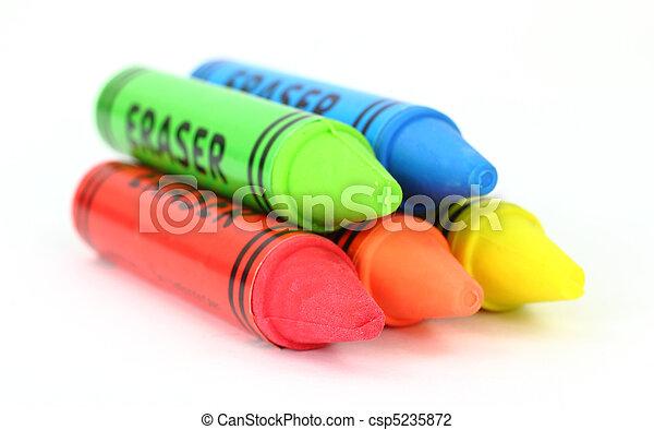 Erasers - csp5235872