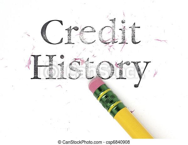 Erasing Credit History - csp6840908
