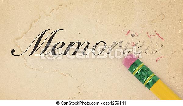 Erasing Memories - csp4259141