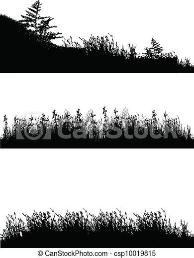 erba, silhouette - csp10019815