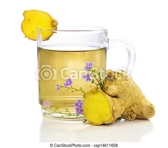 erbaceo, sano, tè - csp14611658