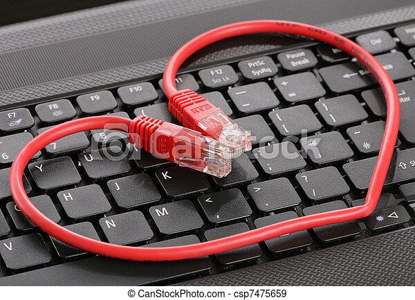 eredő, internet - csp7475659