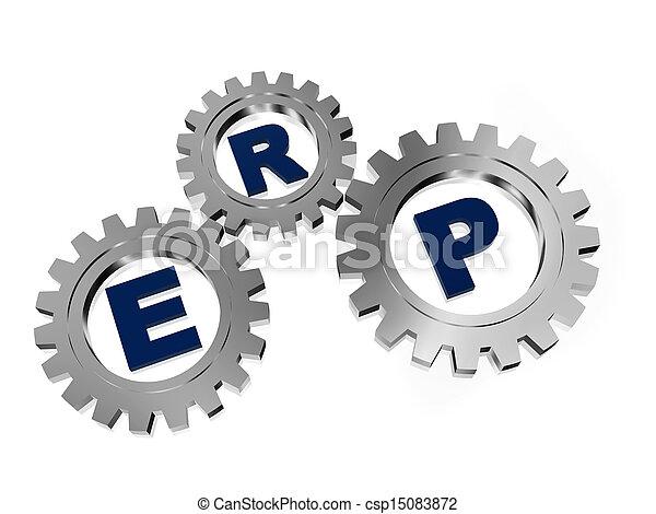 erp, 금속, 은 설치한다, 은 - csp15083872