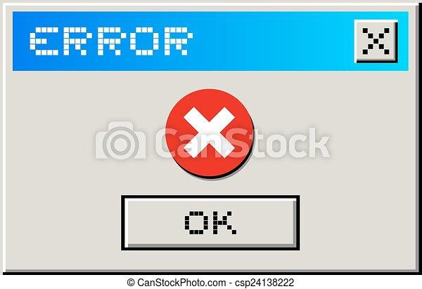 Error message - csp24138222