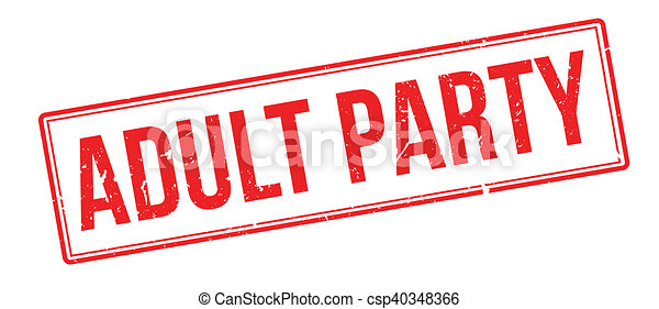 Adult Party Clip Art