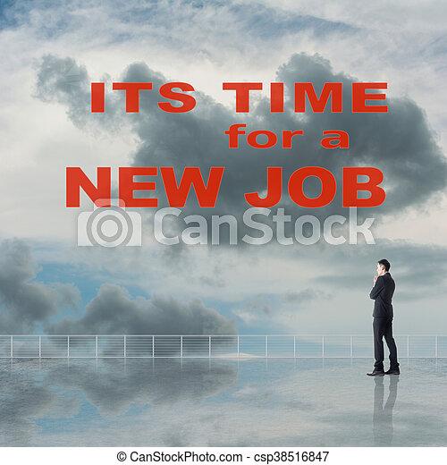 Es hora de un nuevo trabajo - csp38516847