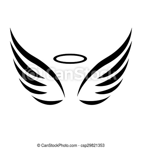 esbo u00e7o  vetorial  asas  anjo esbo u00e7o  anjo  vetorial black angels clip art black angel clipart images