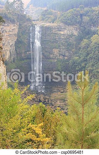 escénico, cascada - csp0695481